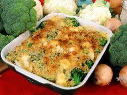 broccoli and cauliflower au gratin recipe abc news