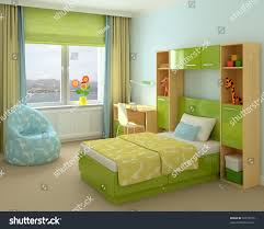 colorful interior playroom 3d render stock illustration 59570716 colorful interior of playroom 3d render