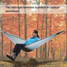hammock single person camping hammock for travelling hiking