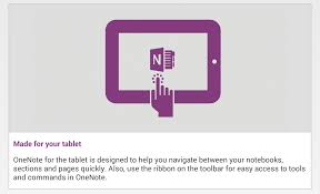 onenote for android gets tablet ui and handwriting support