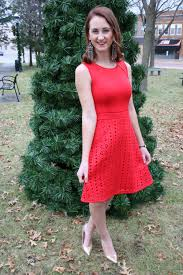 red holiday dress for the love of glitter