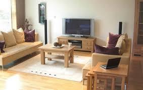 Living Room Arrangement Awesome Wooden Furniture Arrangement Living Room With Notebook And