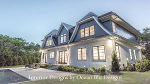 hamptons style coastal home design youtube