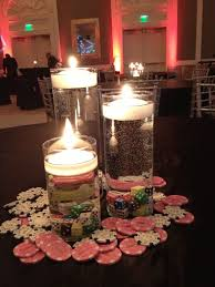 Candle Centerpieces For Birthday Parties by Best 25 Casino Theme Parties Ideas Only On Pinterest Vegas