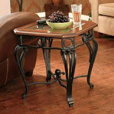 Dark Cherry Sofa Table by Shop Boston Loft Furnishings Prentice Dark Cherry End Table At