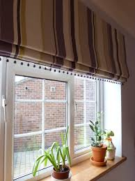 Pottery Barn Roman Shades New Look For Your Home With Striped Roman Shades Marku Home Design