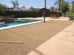 Pool And Patio Design Ideas by Exterior Design Interesting Decomposed Granite Patio Design With