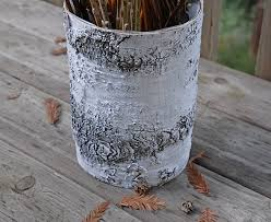 Birch Bark Vases Birch Bark Vase
