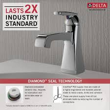 Pex To Faucet Connection Faucet Com 564 Ssmpu Dst In Brilliance Stainless By Delta