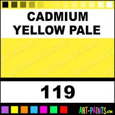 cadmium yellow pale artist watercolor paints 119 cadmium