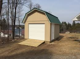 Gambrel Garage by Gallery Premium Pole Building And Storage Sheds