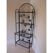 Decorating A Bakers Rack Bakers Rack Decorating Ideas How Can Update Outdoor Bakers Rack