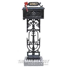 Pedestal Mailbox Custom Mailboxes The Mailbox Guy Louisiana