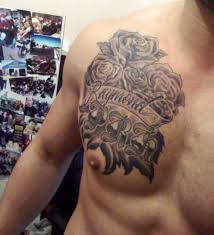 memorial roses on chest for in 2017 photo