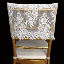 lace chair covers aliexpress buy chair back cover outdoor decoration chiavari