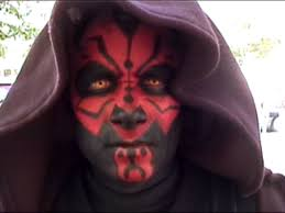 kropserkel darth maul costume horns make up and eyes