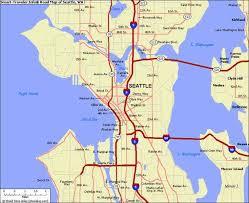 seattle map eastlake map of seattle wa holidaymapq