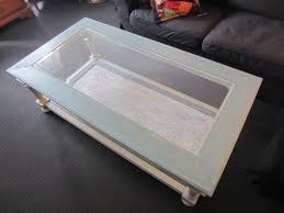 shabby chic glass top coffee table casa9