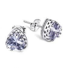 most hypoallergenic earrings most popular 925 sterling silver hypoallergenic stud earrings for