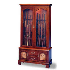 Pine Gun Cabinet Jasper Cabinet Curios And Furniture Display Cabinets Desks And
