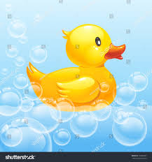 rubber duck blue water 10eps stock vector 132822887 shutterstock