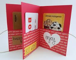 gift card book gift card holder etsy