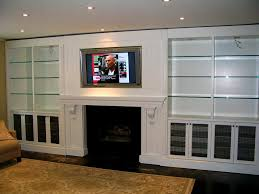 bathroom stunning custom built wall units made shallow in tv