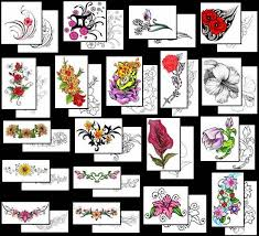 flower tattoos what do they mean flower tattoo designs