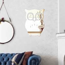 Owl Wall Sticker Online Get Cheap Owl Wall Mirror Aliexpress Com Alibaba Group