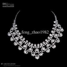 bride necklace images Bride diamond necklace new wedding bridal accessories jewellery jpg
