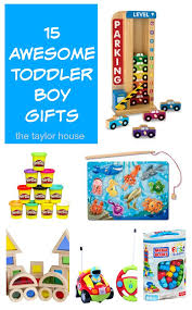 15 great gifts for toddler boys the house