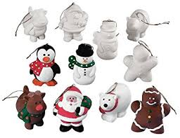 design your own ceramic character ornaments