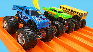 monster trucks racing videos monster trucks for kids wheels monster jam monster truck