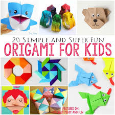 Easy Paper Craft For Kids - 20 cute and easy origami for kids easy peasy and fun