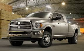Dodge Ram 3500 Cummins Mpg - ram updates hd pickup lineup for 2012 adds esc and new six speed