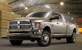Dodge Ram 3500 Cummins Turbo Diesel Mpg - ram updates hd pickup lineup for 2012 adds esc and new six speed