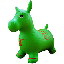 Green Tv by Amazon Com Green Horse Hopper Pump Included Inflatable Jumping