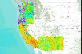 soil bulk density for washington oregon california arizona and