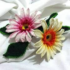 Crocheted Flowers - 301 best realistic crochet flowers images on pinterest crocheted