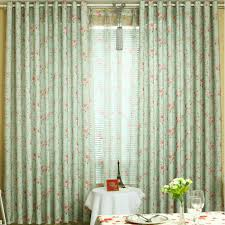 Rose Colored Curtains Rose Curtains In Fresh Green Color Feature Eco Friendly Style