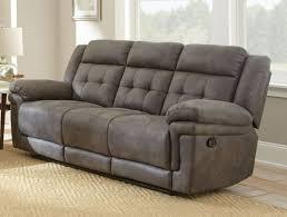 Reclining Sofa Bed Grey Reclining Sofa