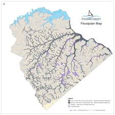 County Map Ga Know Your Flood Hazard Columbia County Ga