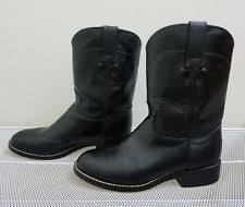 s justin boots on sale justin boots leather shoes for boys ebay