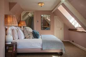Vaulted Ceiling Bedroom Design Ideas Bedroom Loft Room Decorating Ideas With Low Wooden Vaulted