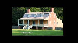 gambrel roof houses of eastern north carolina youtube