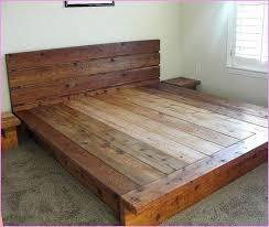 Clearance Bed Frames Platform Bed Frames Image Of Rustic Clearance Platform Beds King
