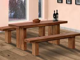 Large Kitchen Tables With Benches Kitchen Kitchen Table With Bench And 31 Amazing Dining Bench