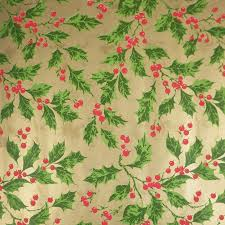 vintage wrapping paper christmas 1970s vintage wrapping paper roll