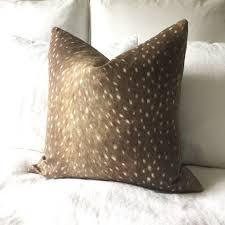 deer print pillow cover u2013 willa skye home