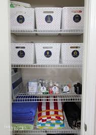 linen closet storage solutions for a skinny linen closet the homes i have made